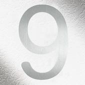 CMD Rvs huisnummers 9, goede kwaliteit