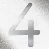 CMD Rvs huisnummers 4, goede kwaliteit