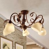 Plafondp Francesco, 5-lichts