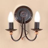 ORION 2-lichts wandlamp GARDA in landhuisstijl