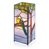 ARTISTAR Betoverende tafellamp Serafina in Tiffany-stijl