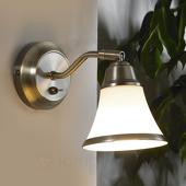 Lampenwelt Klassiek aandoende wandlamp Marita