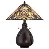 Elstead Fraaie Tiffany tafellamp India