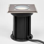 Lampenwelt Hoek. roestvrij stalen vloerinbouwlamp Insa, IP67