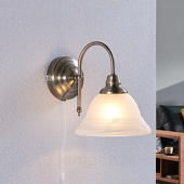 Lampenwelt Antiek ogende wandlamp Hanna