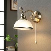 Lampenwelt Elegante wandlamp Frieda, klassieke stijl
