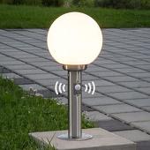 Lampenwelt Vedran - sokkellamp met bewegingssensor