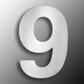 CMD Groot rvs huisnummer 9