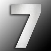 CMD Groot rvs huisnummer 7