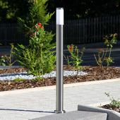 Lampenwelt Cilindervorm. tuinpadverl. Kristof, roestvr. staal