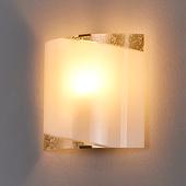Lampenwelt Wandlamp Beatrice met gouden applicaties