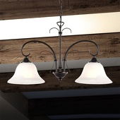 Globo Antiek ogende hanglamp OLAF