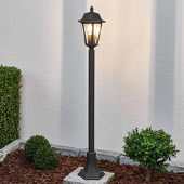 Lampenwelt Pollerlamp Lamina in roestlook