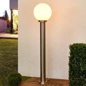 Lampenwelt Aiven - tuinpadverlichting met bolkap