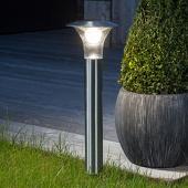 Lampenwelt Bodemankerlamp Jolin met LED, zonne-energie