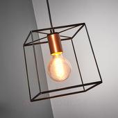 Viokef Agatha - hanglamp met metalen frame