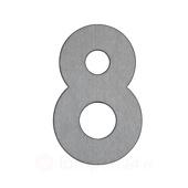 Albert Leuchten Huisnummer 8 - van roestvrij staal