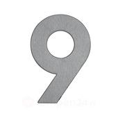 Albert Leuchten Huisnummer 9 - van roestvrij staal