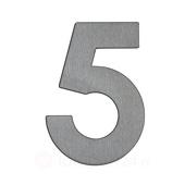 Albert Leuchten Huisnummer 5 - roestvrij staal