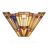 Wandlamp Esmea in Tiffany-stijl
