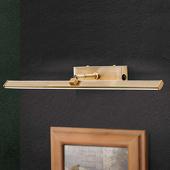 ORION LED schilderijlamp Suren in antiek messing, 50 cm