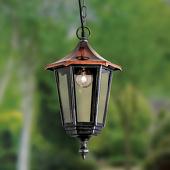 ORION Charmante hanglamp ANTOINE met koperdak
