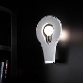 Selene Exclusieve wandlamp Flat 29, wit