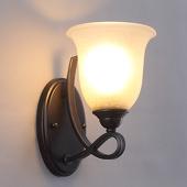 Lampenwelt Elegante wandlamp Trisha