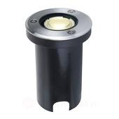 Lampenwelt IP67 LED-vloerinbouwlamp Kenan, roestvrij staal