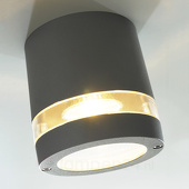 Eco-Light Mooie designlamp Focus antraciet 1 lichtbron