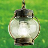 ORION Met geblazen glas - hanglamp Margerite voor buiten