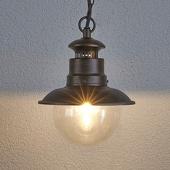 Lampenwelt Buiten-hanglamp Eddie in landelijke stijl