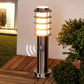 Lampenwelt Selina - sokkellamp met bewegingssensor