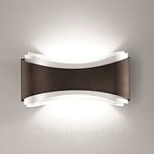 Selene Bronskleurige design-wandlamp Ionica