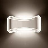 Selene Witte design-wandlamp Ionica
