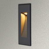 Lampenwelt Indirect schijnende LED-wandinbouwlamp Nuno