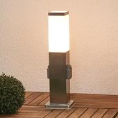 Lampenwelt Energiezuil Lorian met verlichting