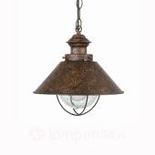Lorefar (Faro) Hanglamp Nautica in antieke look, 26 cm