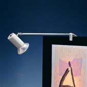 SIS-Licht Standaard klemspot GRIP, zilver