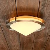 Lampenwelt Buitenplafondlamp Reneas van roestvrij staal