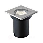 Lampenwelt Hoekige LED-vloerinbouwlamp Ava, IP67