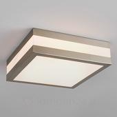 Lampenwelt Hoekige buitenplafondlamp Hana