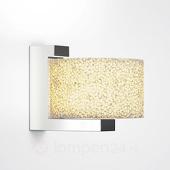 Serien Lighting Wandlamp Reef van keramisch schuim, dimbare LED's