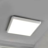 Lampenwelt Eenvoudige plafondlamp Augustin met LED, IP54