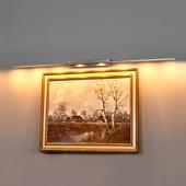 Lampenwelt Beweeglijke LED-schilderijverl Tolu m moderne look