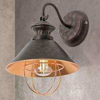 ORION Antiek ogende wandlamp Shanta