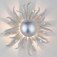J. Holländer Wandlamp SONNE SILBER diameter 45 cm