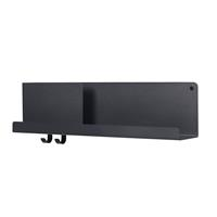 muuto Folded wandplank  63 zwart