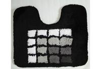 Coppens Toiletmat 50 x 60 cm zwart blok