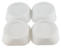 Sub trillingsdempers voor wasmachine set van 4 stuks, wit